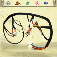 Motorcycle/electric vehicle wiring harness production