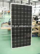 300W mono solar panel for solar enwegy system, roof system
