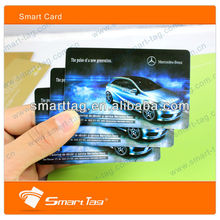 Offset printing contactless smart card Alien H3 uhf rfid pvc card