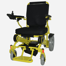 pu tires and adjustable handle electric wheelchair with company cheap price
