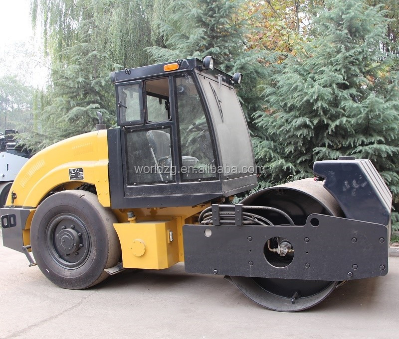 Hydraulic Transmissionn Single Drum Vibratory Road Roller