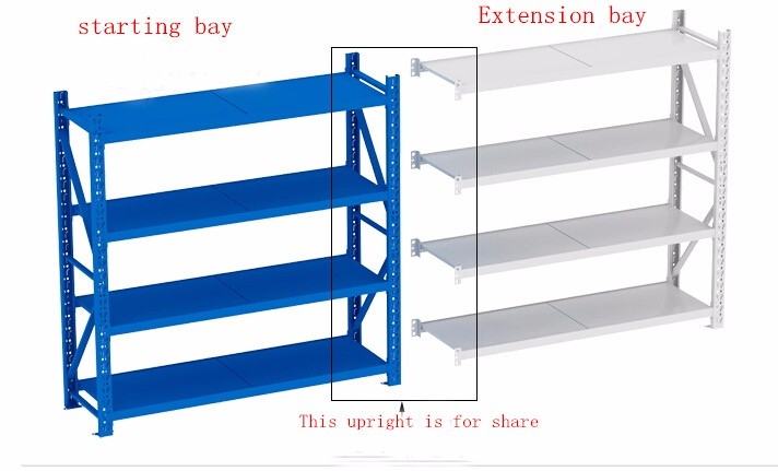 2017 HOT Shelving heavy duty warehouse shelf & steel warehouse storage shelves