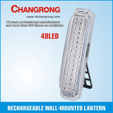 Rechargeable chinese lamp factory wall light led emergency light battery