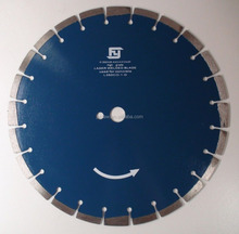 350MM FLUMED DIAMOND LASER SAW BLADE PRECISION REINFORCED CONCRETE CUTTING PRO