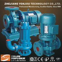 Vertical pipeline centrifugal pump, industrial water pumps for sale