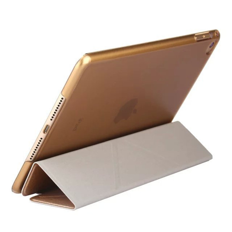 new cover for ipad air2 PU Material anti-shock can Deformation stents for ipad air Tablet cases 9.7 inch for Apple tablet cover