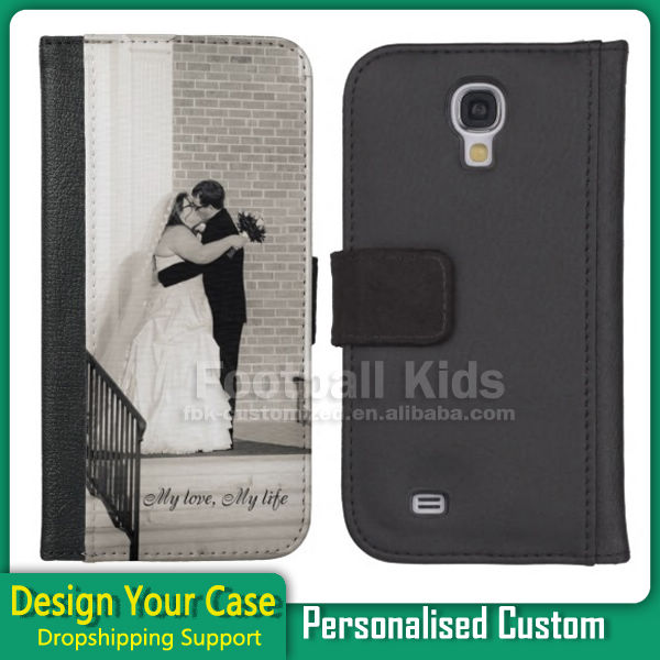 Customized Sublimation Phone leather cases for Samsung S2 S3 S4