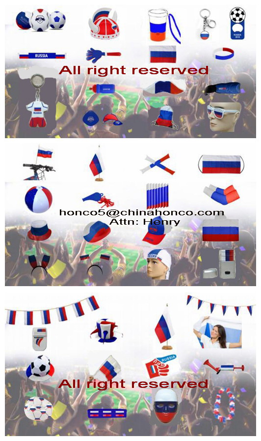 WM 2018 france PVC Inflating big handfrench cheering hand toy