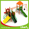 China Liben Commercial Plastic Kids Kindergarten Used Outdoor Playground