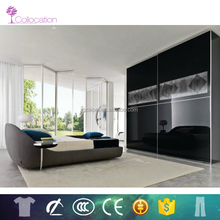 Best price high gloss design wardrobe custom made bedroom furniture