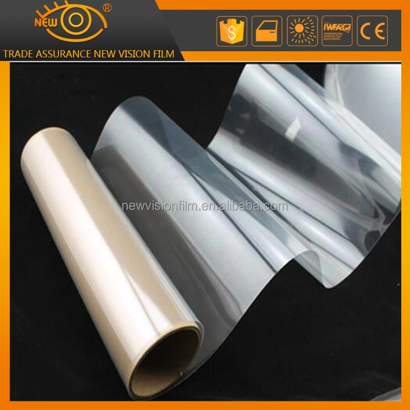 Self-Adhesive Feature and PET Material Car Glass Safety And Security Film 4 MIL Clear