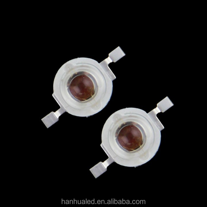 China Factory Epistar Bridgelux Epileds 3w 2v 2.4v 42mil 40Mil Red High Power Led Diode 620nm 630nm 650nm 660nm