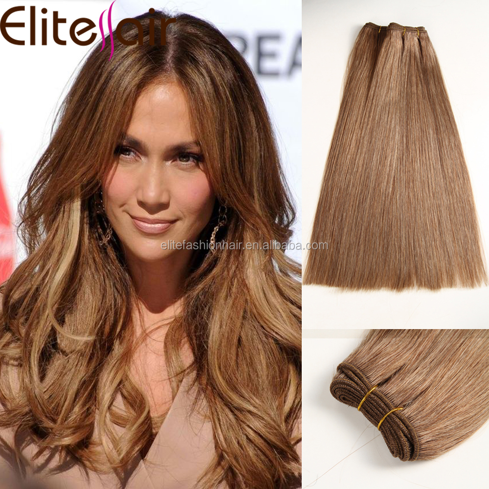 alibaba express hot selling honey brown cuticle intact double drawn brazilian remy hair weft free sample
