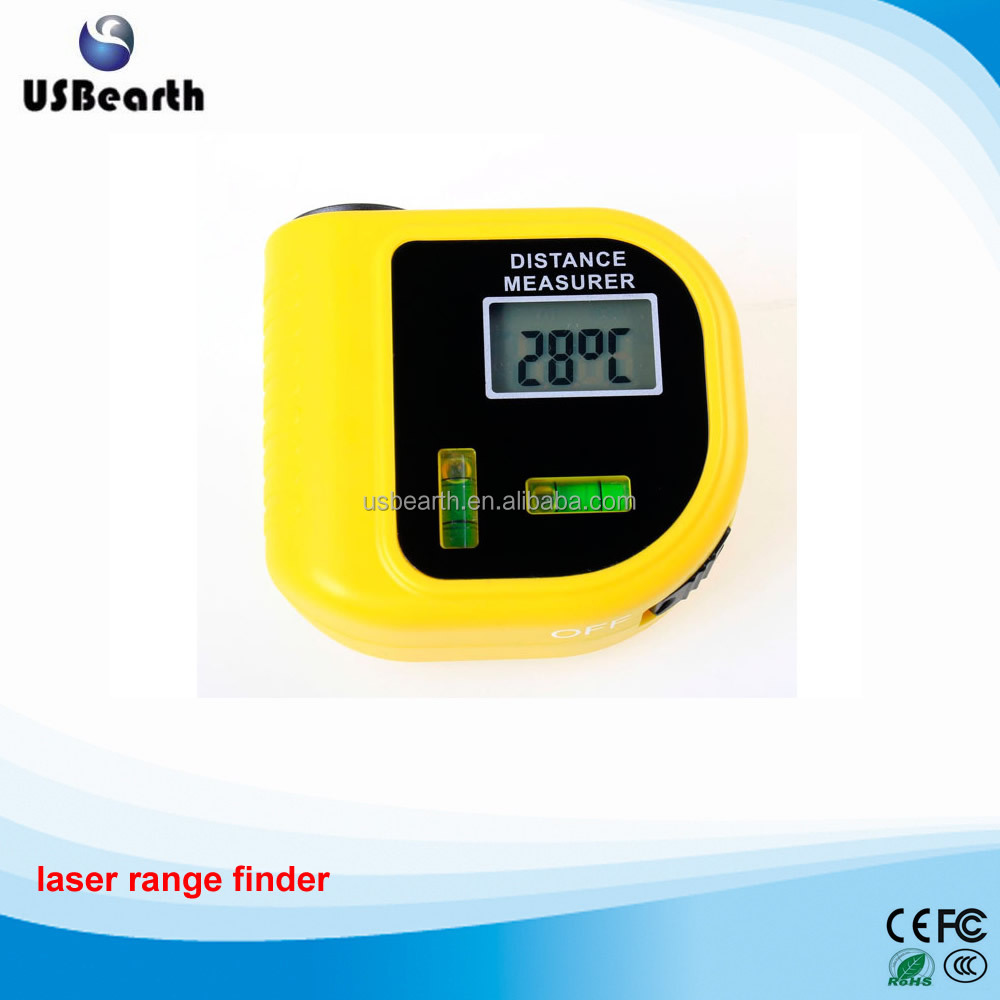 Level measurement instrument Digital laser designator LCD ultrasonic rangefinder electronic tape measure .