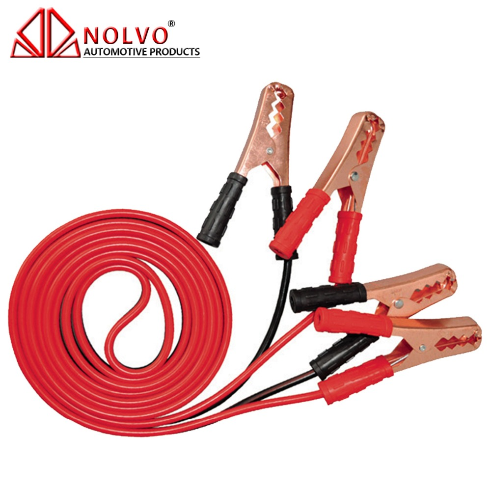 10 gauge 8GA Car Emergency Jump Start Battery Charge Booster Jumper Cable 200A