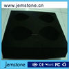 New chic design black polystyrene esd foam absorbing tray