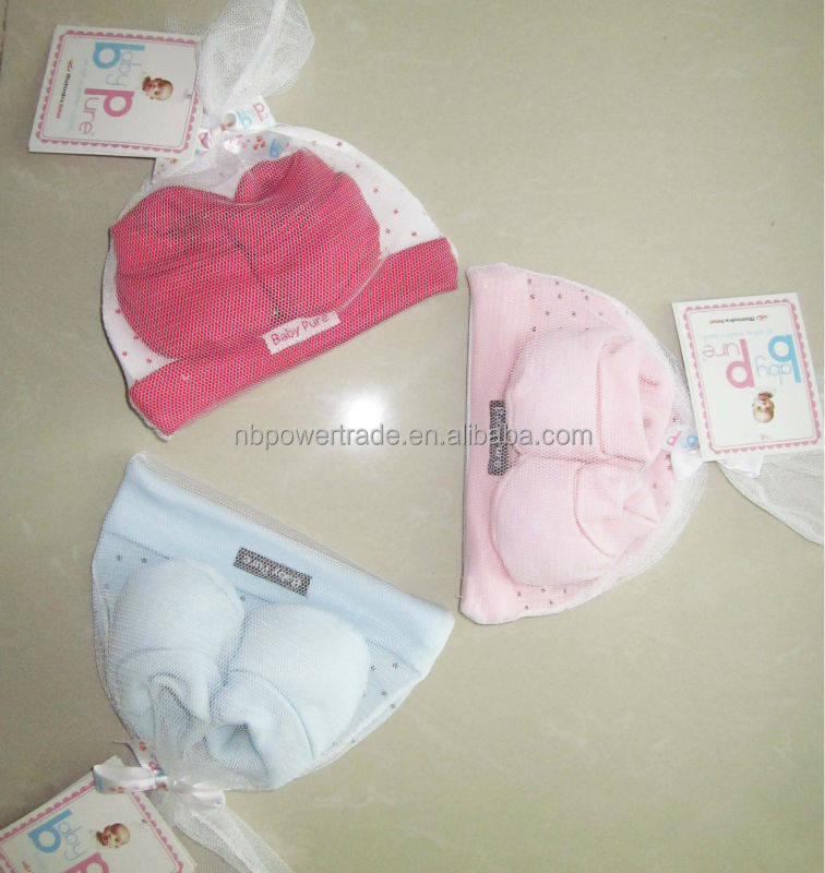 new born baby accessories 2pcs set/new born baby shoes/new born baby cap