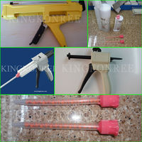 KKR solid surface glue with dispenser stone adhesive