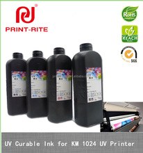 pigment uv curable ink for liyu maxima konica printer fluorescent ink for printing