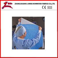 Spun-Bonded Nonwoven Fabric material sterile wraps, caps, gowns, masks and drapes used in the medical field