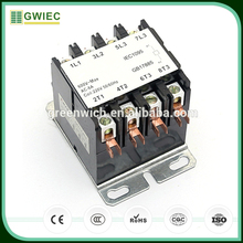 GWIEC Online Selling Contactor Price List 40A 3P Electric AC Air Conditioner Contactor