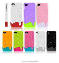 Cute 3D Melt Ice Cream Hard Back Case Cover For Apple iPhone 4/4S