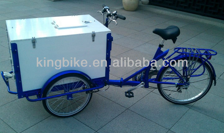2015 New Ice cream trike for sale/Adult tricycle/cargo bike KB-T-Z21