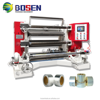 New Automatic High Quality Cheap Non Woven Fabric Paper Bopp Tape Label Jumbo Plastic Film Roll Slitting Machine