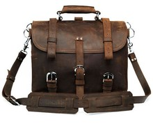 Big Tote Leather Duffle Bags Leathe Bags For Men Crazy Horse Leather Mens Bag 7072R