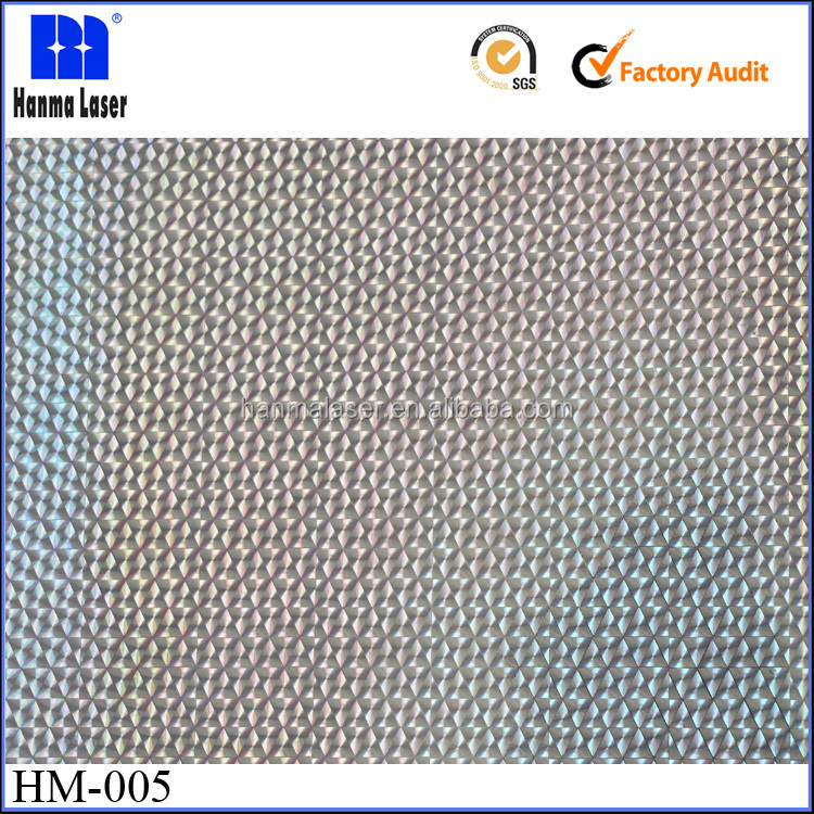 HM-005 24mic PET Seamless Hologram Film for Lamination