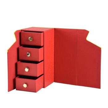 New design household small things faux leather storage box
