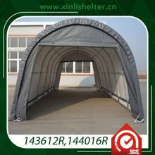 Tent shipping container canopy