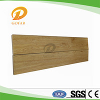 Fire resistant decorative wooden flooring substitute