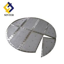 Stainless steel multi-layer sintered metal filter disc