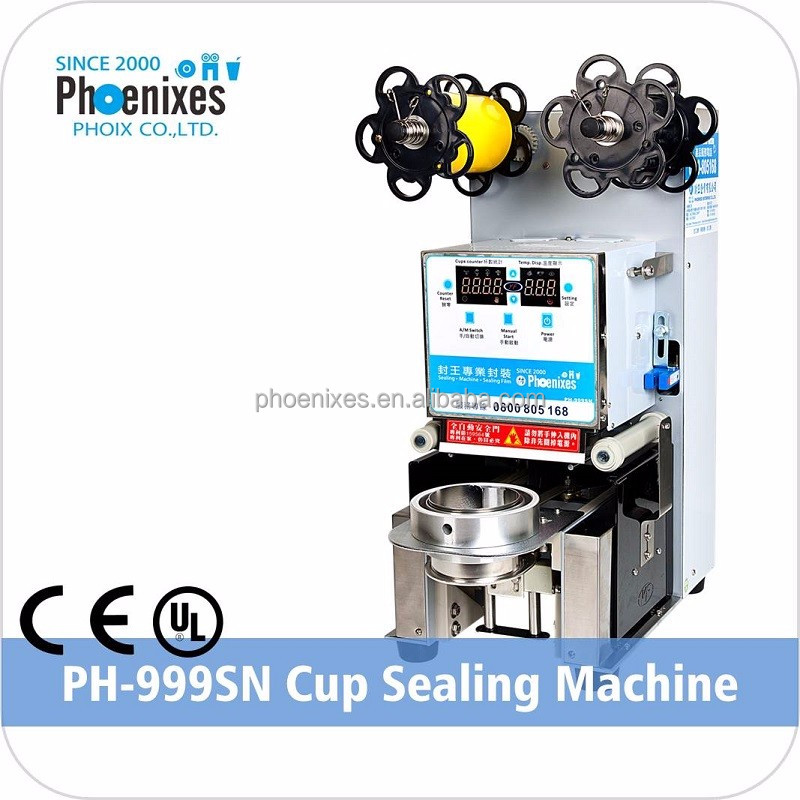 Premium Taiwan Automatic Bubble Tea Cup Sealing Machine