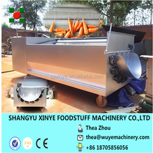 carrot peeler and washer/carrot peeling machine/carrot processing machine