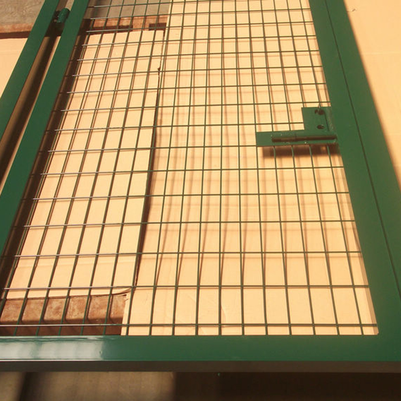 Galvanized steel wire swing steel gate price for house
