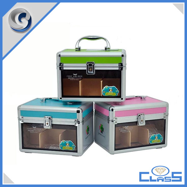 2017 flexible Emergency & Clinics Apparatus High Quality Acrylic Mesicine Chest Personal Customization First Aid Case