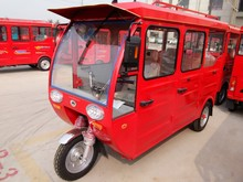 solar taxi electric tricycle with long distance