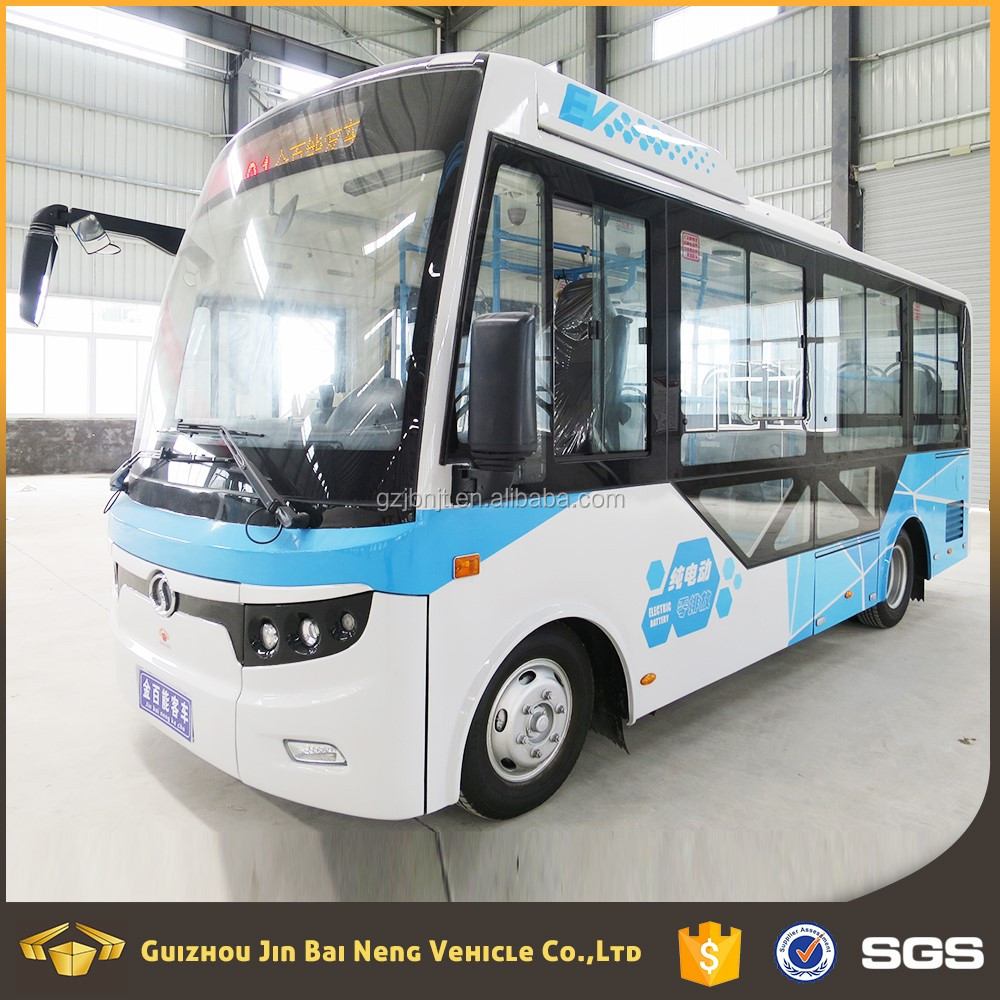 Pure mini electric bus/city bus/luxury bus with 41-60 seats for hot sale