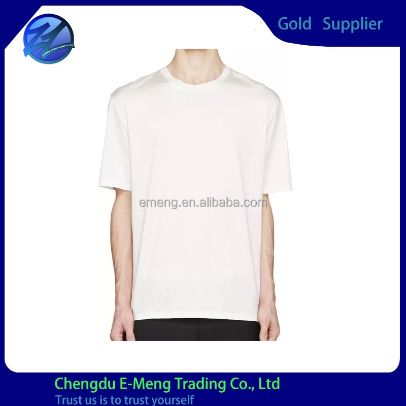 wholesale bulk buy t shirt long blank white for men buy