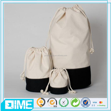 2107 Natural Cotton Drawstring Pouch For Jewelry