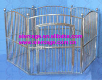 High cost-effective extra large dog cage stainless steel dog kennels
