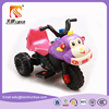 Old fashioned cartoon design children toy motorcycle and motorbike for baby