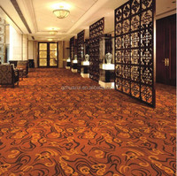 Fire resistant nylon carpet, abstract design carpet , wall to wall nylon carpet for hotel