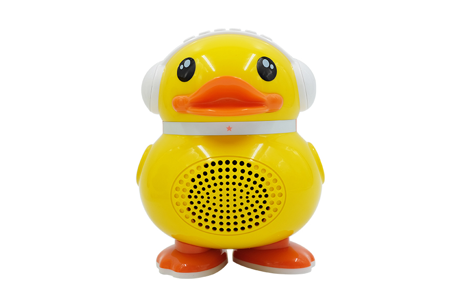 Yellow duck early education Speaker for kids learning