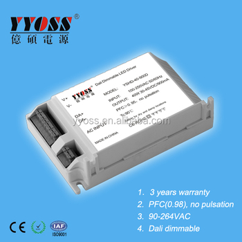 40W constant current dimmable led power supply 350ma 700ma 1050ma type