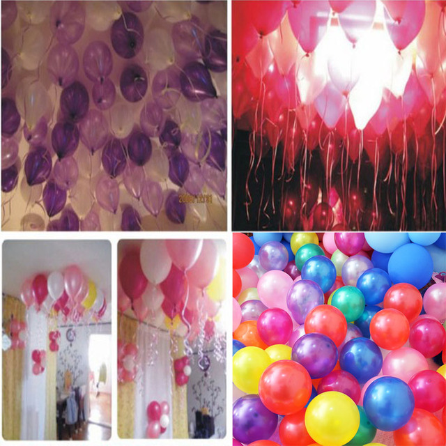 10pcs/lot Latex balloon Helium Pearl balloons Wedding Party Birthday Balls Classic toys christmas gift