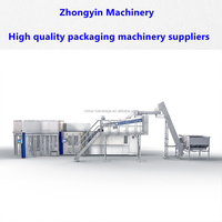 Aseptic cold filling ultra clean h2co3 beverage filling system drinks production line