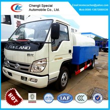 Mini high pressure washing truck,vacuum and pressure truck 2000L,high pressure pump truck